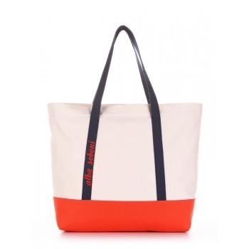 фото сумка Alba Soboni 190446 молочный-оранжевый купить