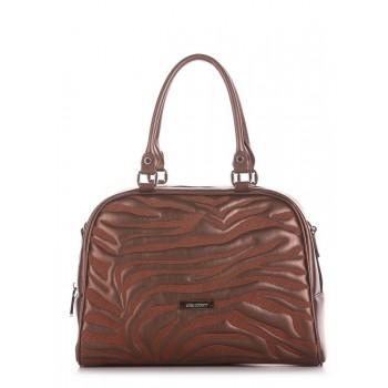 фото сумка Alba Soboni 191562 шоколадный-перламутр купить