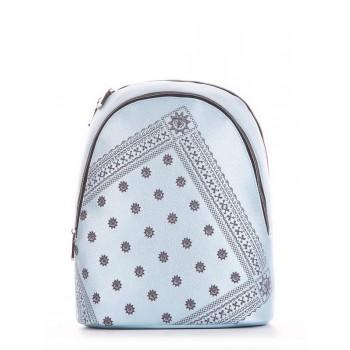 фото рюкзак Alba Soboni 191572 голубой-перламутр купить