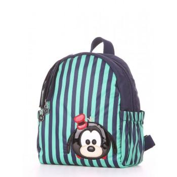 фото детский рюкзак Alba Soboni 1953 синий/зелёная полоса купить