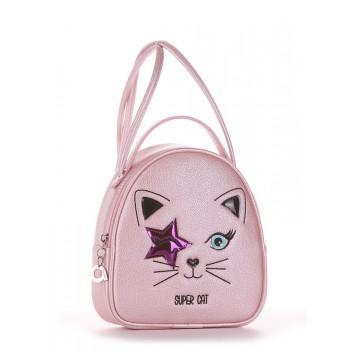 фото сумка Alba Soboni 2002 розовый-перламутр купить