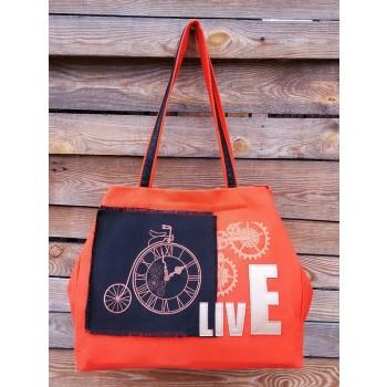 фото сумка Alba Soboni 200243 оранжевый купить