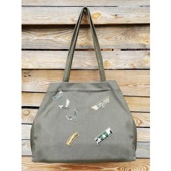 фото сумка Alba Soboni 200246 хаки купить