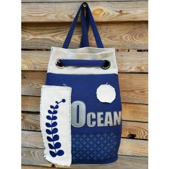 фото рюкзак Alba Soboni 200254 синий купить