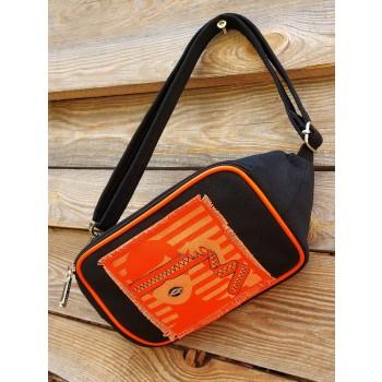 фото сумка на пояс Alba Soboni 200262 черный купить