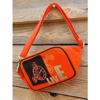 фото сумка Alba Soboni 200263 оранжевый купить