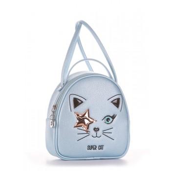 фото сумка Alba Soboni 2003 голубой-перламутр купить