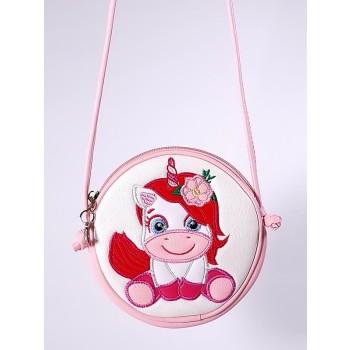 фото детская сумка Alba Soboni 2066 белый-розовый купить