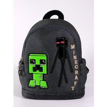 фото детский рюкзак Alba Soboni 2082 темно-серый купить