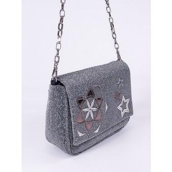 фото клатч Alba Soboni 210003 темное серебро купить