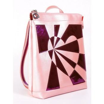 фото рюкзак Alba Soboni 2102 розовый-перламутр купить