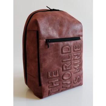 фото рюкзак Alba Soboni 212363 бордо-никель купить