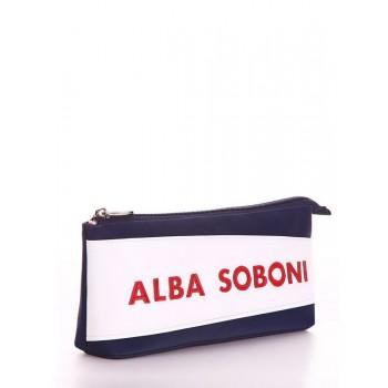 фото косметичка Alba Soboni 613 синий купить