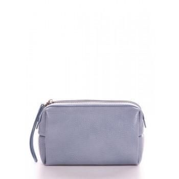 фото косметичка Alba Soboni 633 серо-голубой купить