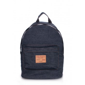 фото рюкзак POOLPARTY backpack-jeans купить
