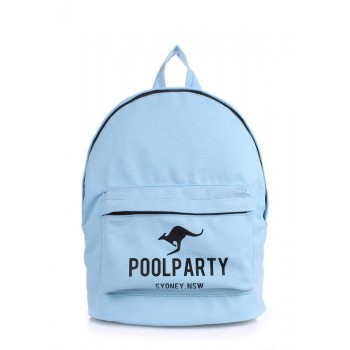 фото рюкзак POOLPARTY backpack-kangaroo-blue купить