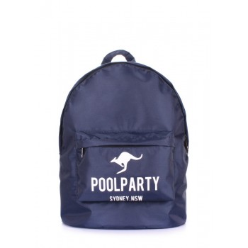 фото рюкзак POOLPARTY backpack-oxford-blue купить