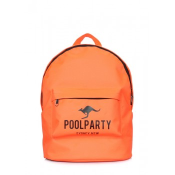 фото рюкзак POOLPARTY backpack-oxford-orange купить