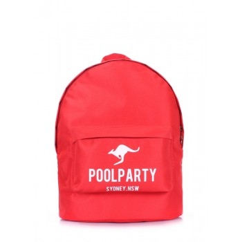 фото рюкзак POOLPARTY backpack-oxford-red купить