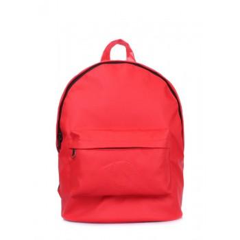 фото рюкзак POOLPARTY backpack-pu-red купить