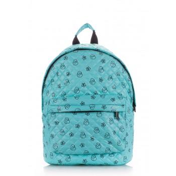 фото рюкзак POOLPARTY backpack-theone-blue-ducks купить