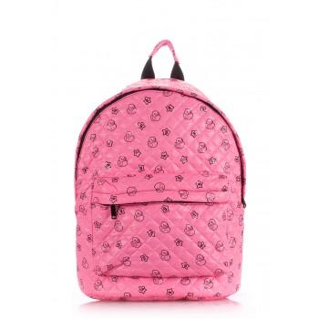 фото рюкзак POOLPARTY backpack-theone-pink-ducks купить