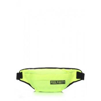 фото сумка на пояс POOLPARTY bumbag-neon купить