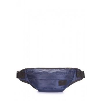 фото сумка на пояс POOLPARTY bumbag-oxford-darkblue купить