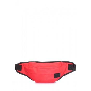 фото сумка на пояс POOLPARTY bumbag-oxford-red купить