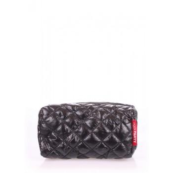 фото косметичка POOLPARTY cosmetic-stitch-black купить