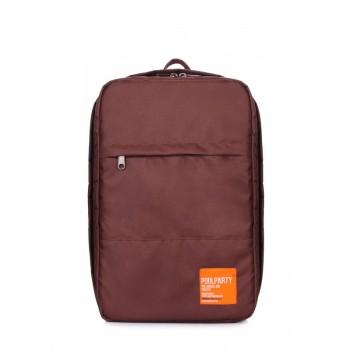 фото рюкзак POOLPARTY hub-brown купить