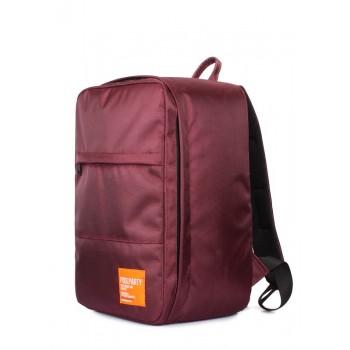 фото дорожный рюкзак POOLPARTY hub-marsala купить