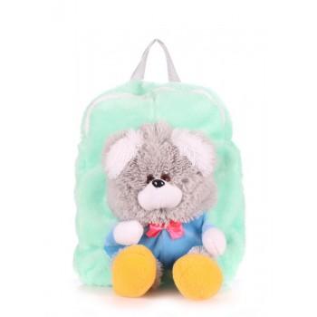 фото Рюкзак POOLPARTY kiddy-backpack-teddybear-gb купить