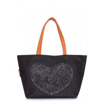 фото сумка POOLPARTY lovetote-oxford-black купить