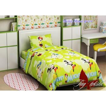фото комплект постельного белья TAG Mickey Mouse green купить
