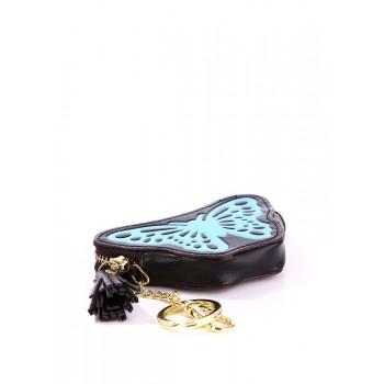 фото брелок Alba Soboni мини сумочка бабочка черная купить