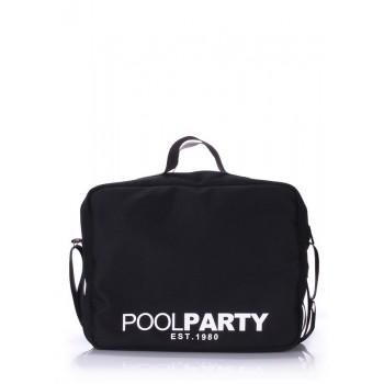 фото сумка POOLPARTY original-oxford-black купить