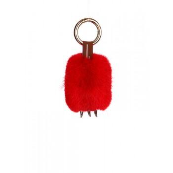 фото брелок Alba Soboni подвеска лапа красная купить