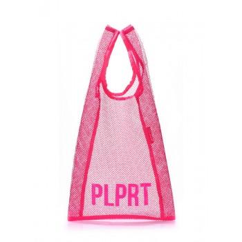 фото сумка POOLPARTY plprt-mesh-tote-pink купить