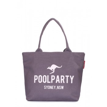 фото сумка POOLPARTY pool-9-fullgrey купить