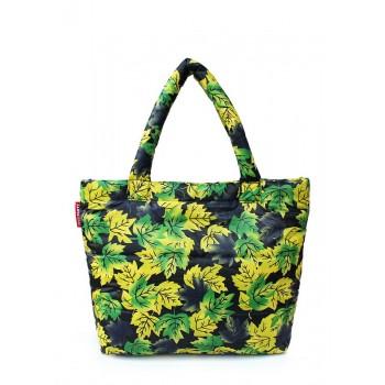 фото сумка POOLPARTY pp4-yellow-leaves купить