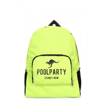 фото рюкзак POOLPARTY transformer-neon купить