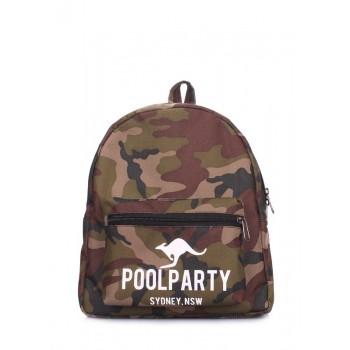 фото рюкзак POOLPARTY xs-camo купить